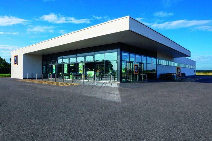 Napokon belül megnyit az új áruház Siklóson